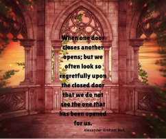 And God will open the door