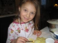 Baking Cookie with Clarissa