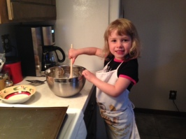Robyn Hope makes cookies with Work at Home Grandma