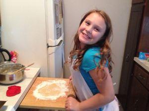 Clarissa Makes Cookies